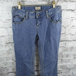 Free People Boot Cut Flare Low Rise Stretch Jeans